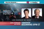 Live election coverage starts at 6pm ET