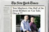 'Car Talk' host dies at 77