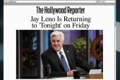 Jay Leno set to make a 'Tonight Show' return