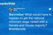 Will the GOP make a move on minimum wage?