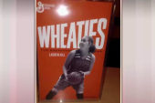 Basketball player with cancer gets cereal box