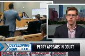 Rick Perry appears in court