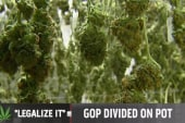 GOP pushback on marijuana legalization