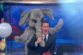 Stephen Colbert stays humble about midterms