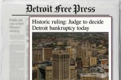 Judge set to rule on Detroit's bankruptcy