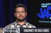 Jack Osbourne 'fortunate' after MS diagnosis