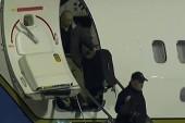 North Korea captives back in US