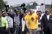 Ferguson takes spotlight on world stage