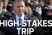 Obama's high-stakes China trip