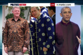The silk shirt: Which president wore it best?