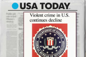FBI: Violent crime in US on the decline