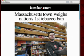 One town considers going totally tobacco free