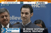 NYC Ebola survivor: 'Today, I am healthy'