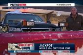 A big lottery winner keeps his day job