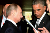 Obama and Putin's icy encounter