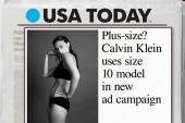 Mika: Calvin Klein model not 'plus-size'