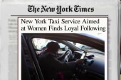 Taxi service for women finds its following