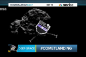 Out of this world comet landing