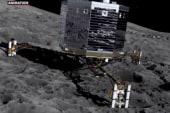 Spacecraft lands on comet