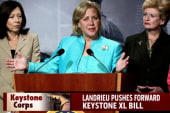 Mary Landrieu backs Keystone approval
