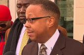 Brown family calls for peace in Ferguson