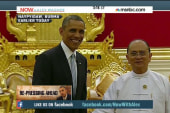 Obama: Burmese reforms 'real, but unfinished'