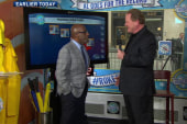 Weather warrior Al Roker goes for gold