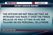 Detailed 'White House jumper' report