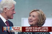Is Axelrod right about Hillary Clinton?