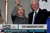 Clintons kick off tribute to past