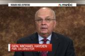 Hayden calls for US ground troops in ISIS war