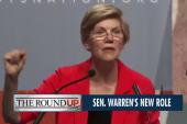 Elizabeth Warren jumps into new role