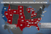 GOP gets tight grip on state legislatures
