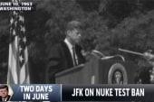 New book explores two historic JFK speeches