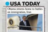 Obama returns to take up immigration