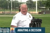 Rally in Ferguson for police chief