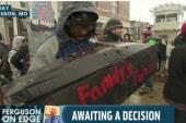 Ferguson protesters hold 'die in'