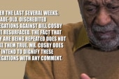 Bill Cosby's silence on rape accusations