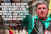 Tribe calls Keystone vote 'act of war'