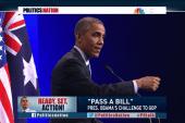 President Obama gets tough on Congress