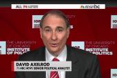 Axelrod revises tweet slamming Gruber