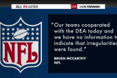 DEA raids strike multiple NFL teams
