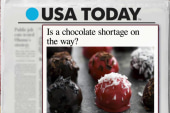 Prepare for a chocolate shortage?