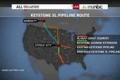 Keystone XL pipeline bill falls one vote...