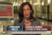 Concerns raised in Ferguson over Nat'l Guard
