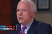 John McCain plays Hardball