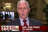 GOP governor addresses 2016 talk