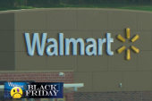 Wal-Mart employees work Thanksgiving