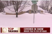 Flooding worries after record NY snow