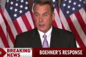 Boehner: Obama refuses to listen to Americans